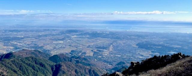 国見岳からの展望