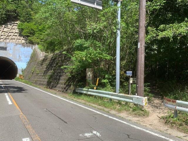 武平峠登山口(三重県)