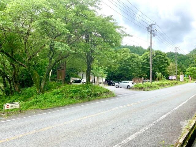 菰野富士に近い駐車場