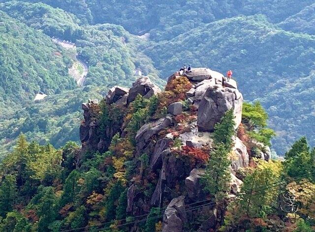 御在所岳の大黒岩