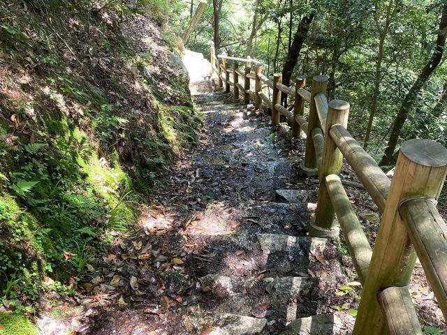 蒼滝への階段(イメージ)