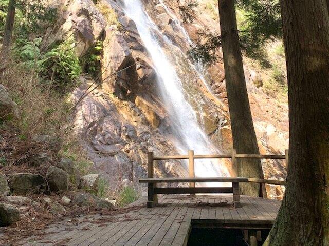 蒼滝の展望スポット