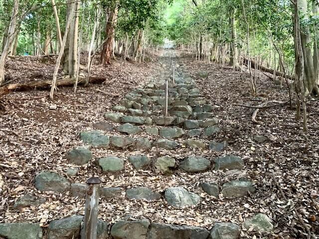 椿大神社の奥にある愛宕神社