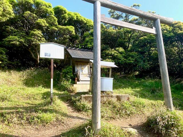 椿大神社の奥宮