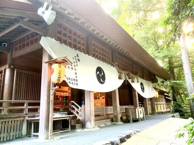 三重県、椿大神社