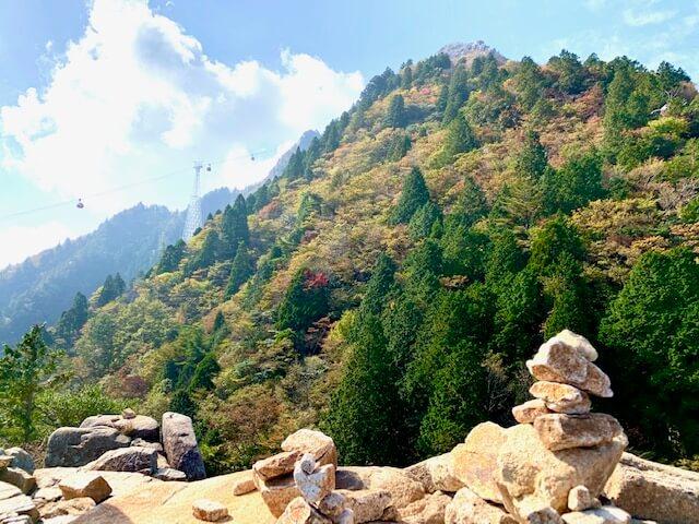御在所岳中登山道イメージ